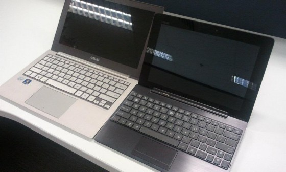 Zenbook vs Transformer Prime
