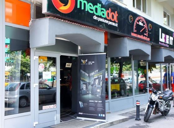 Lansarea seriei de placi de baza ASUS Z87 la MediaDOT.ro