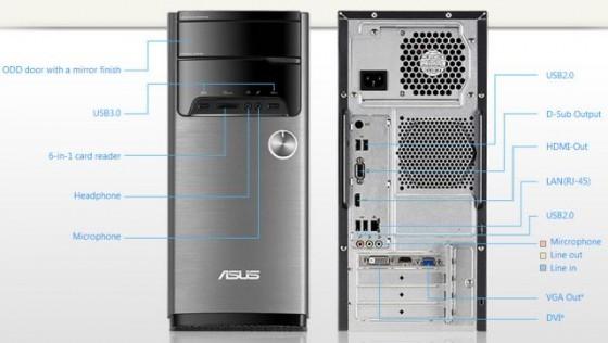 ASUS M32 - conectică