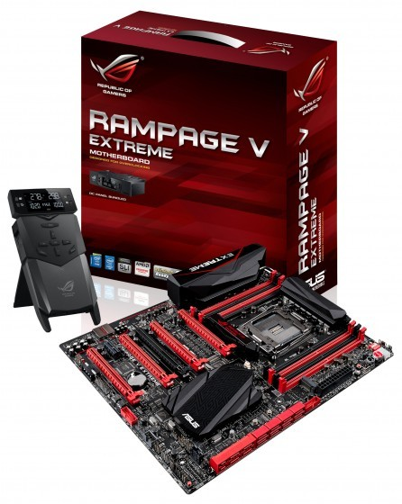 ASUS Rampage V Extreme cu OC Panel