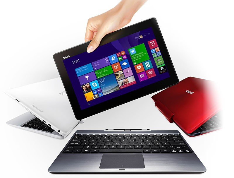Tableta convertibilă în laptop ASUS Transformer Book T100