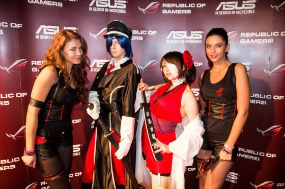 ASUS la DreamHack Masters Bucharest 2014