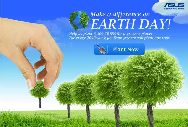 ASUS - Ziua Pământului