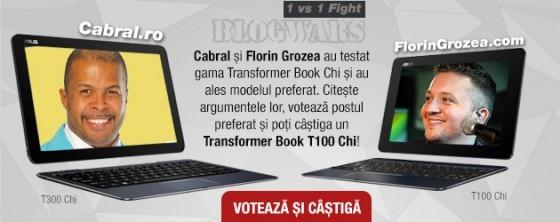 Cabral și Florin Grozea se duelează în BLOGWARS