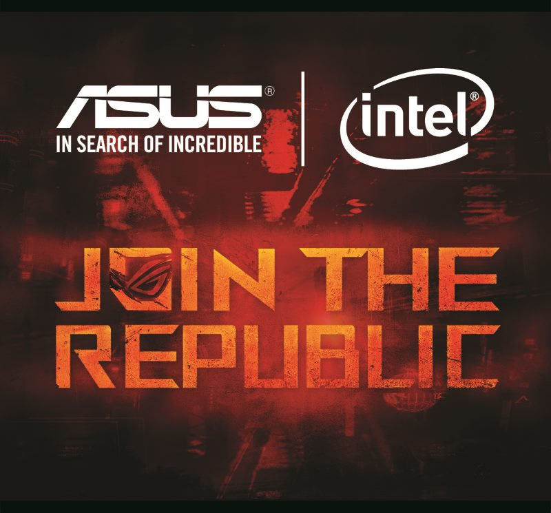 ASUS JOIN THE REPUBLIC
