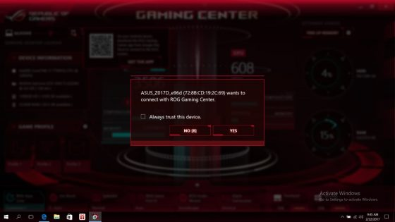 ASUS Gaming Center