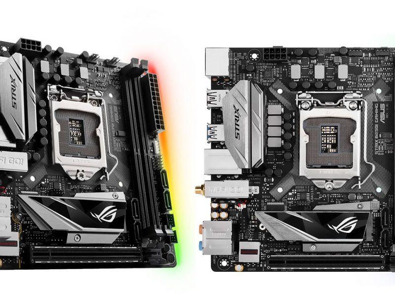 ASUS Strix H270I Gaming și B250I Gaming
