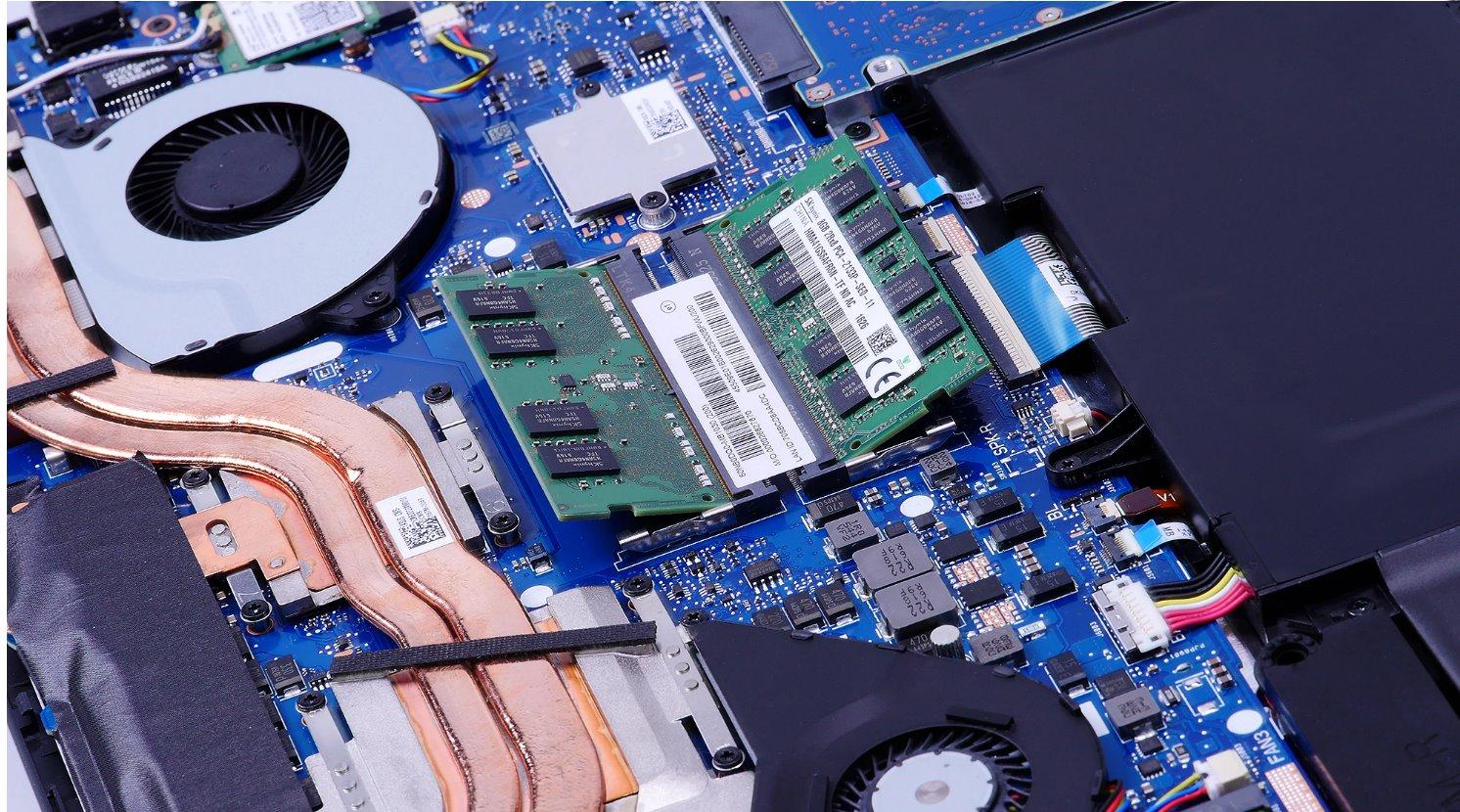 ROG GL702V - memoriile RAM