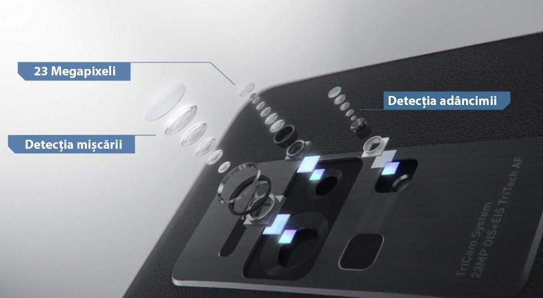 Sistemul ASUS TriCam integrat în ZenFone AR pentru o experiență AR uimitoare