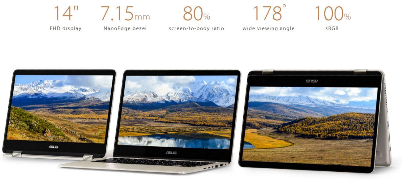 ASUS ZenBook Flip UX461U