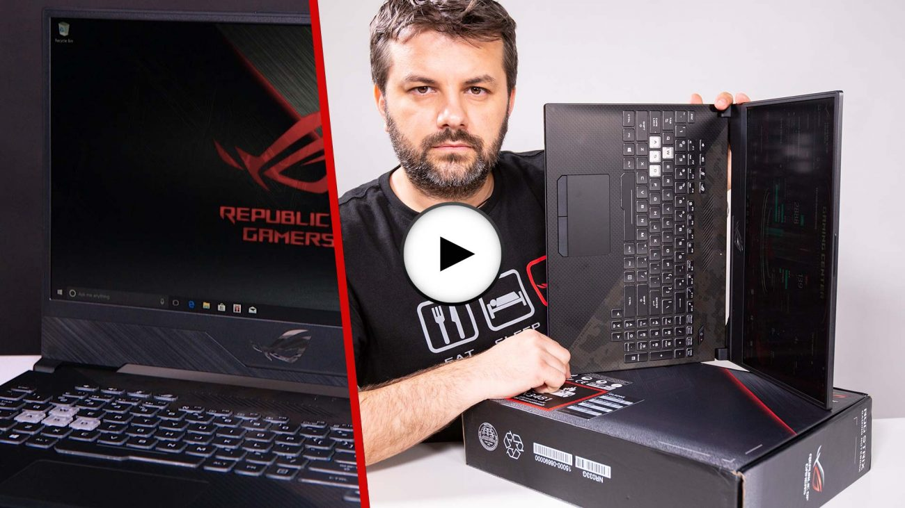 Prezentare video ROG STRIX GL504GM