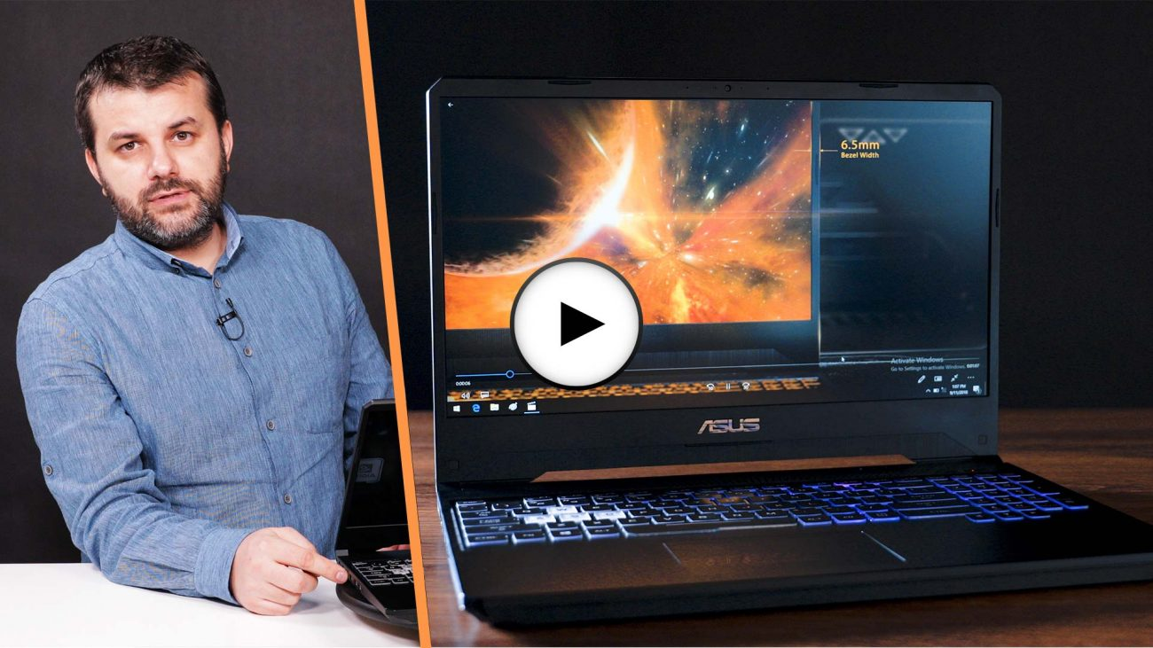 Prezentarea video a laptopului TUF Gaming FX505