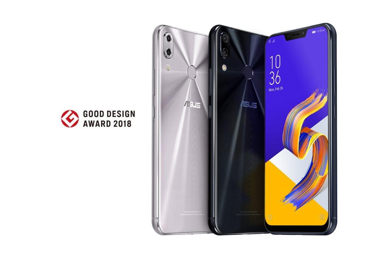 Telefoanele ZenFone 5/5Z premiate cu Good Design Awards 2018