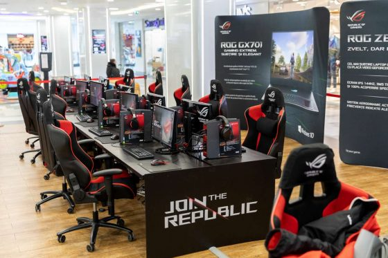 ASUS Join The Republic Plaza Romania