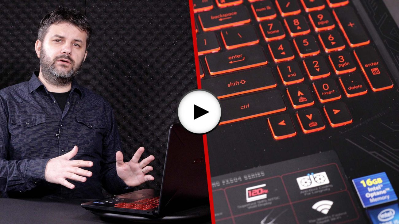 Prezentare video ASUS TUF Gaming FX504GD