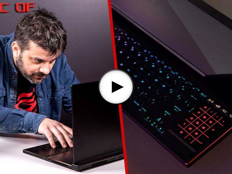 Prezentarea video a laptopului ROG Zephyrus S GX531