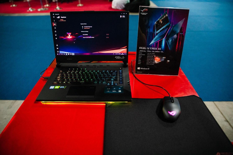Laptopul ROG STRIX III G531 prezentat în premieră națională la East European Comic Con 2019