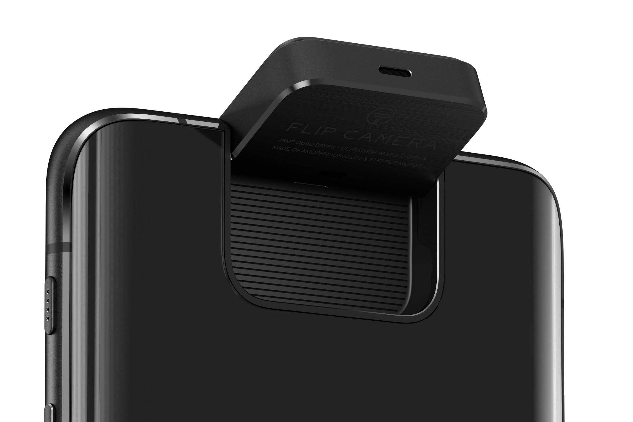Flip Camera de pe ZenFone 6 (spate)