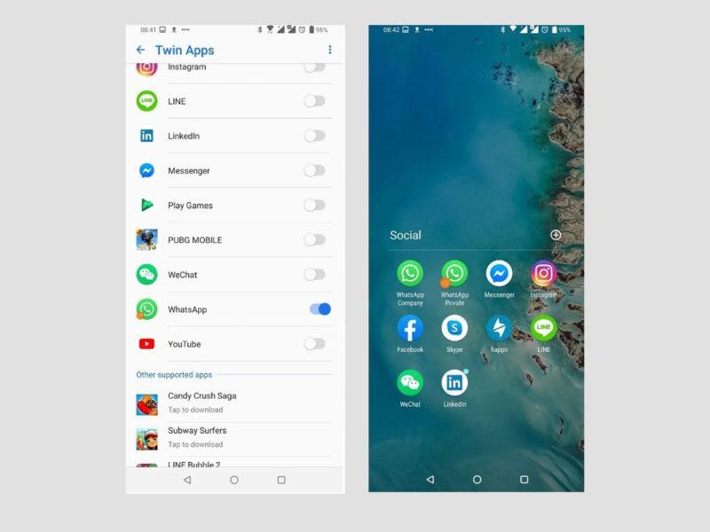 Doua conturi in aplicatii pe mobil