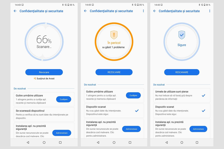 Aplicația Manager mobil de pe telefonul ZenFone