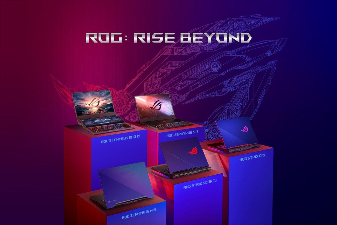 Republic of Gamers anunță linia de laptopuri de gaming cu procesoare Intel Core H din generația a 10-a și grafică NVIDIA GeForce RTX SUPER