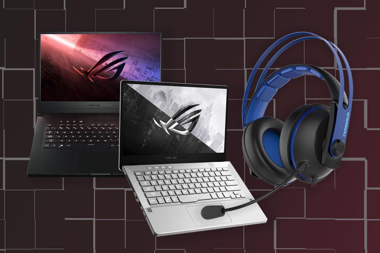 Promotie laptopuri Zephyrus G15 & G14 cu casti de gaming