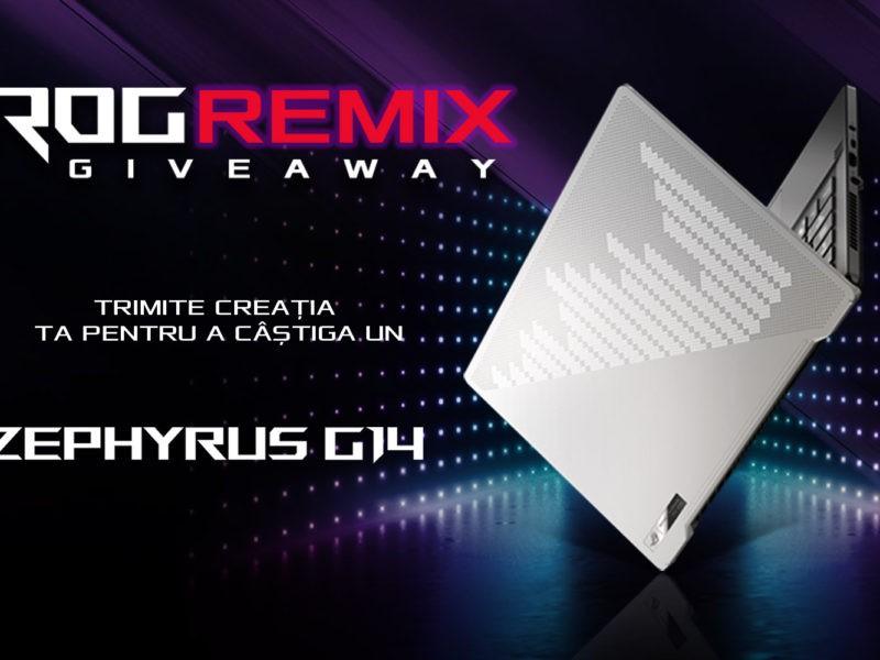 ROG REMIX - Câștigă un Zephyrus G14