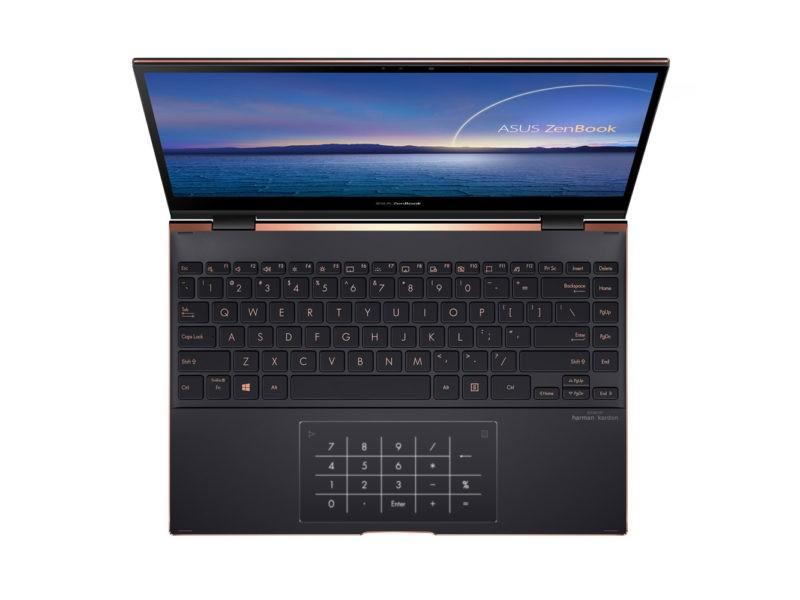 NumberPad pe laptopul convertibil ASUS ZenBook Flip S (UX371)