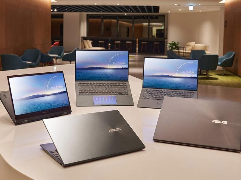 Laptopuri ASUS cu procesoare Intel Core din generația a 11-a