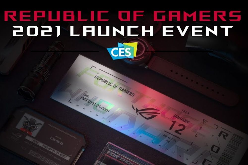 Republic of Gamers (ROG) la CES 2021