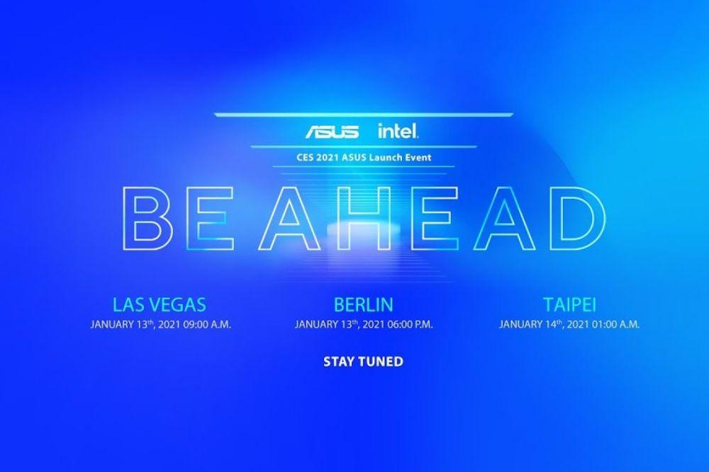 ASUS #BeAhead la CES 2021