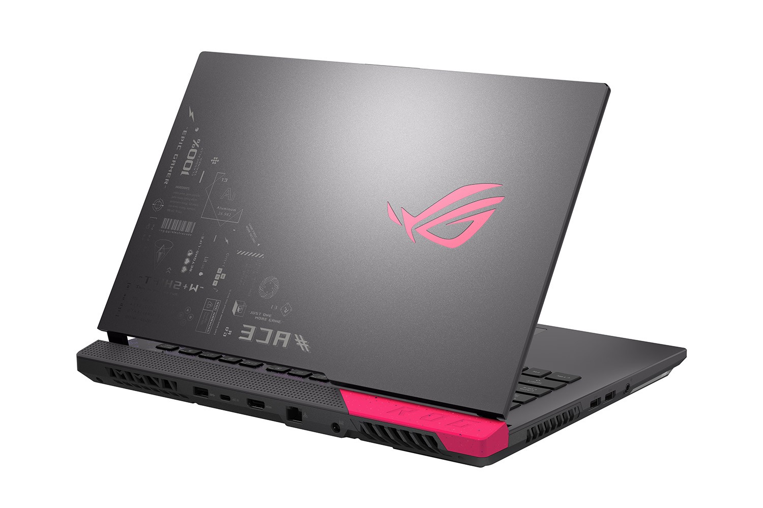 Laptopul de gaming ROG Strix G15 - Electro Punk