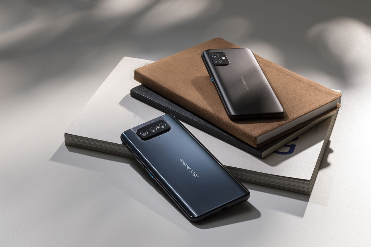 Compactul Zenfone 8 și specialistul foto Zenfone 8 Flip