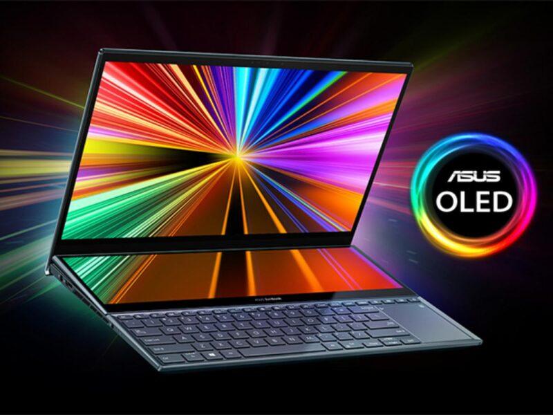 Laptopuri ASUS cu ecran OLED