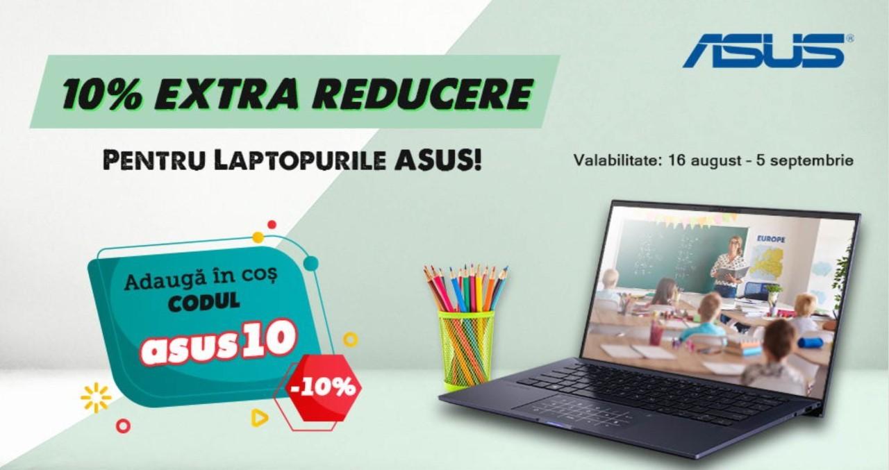 Reducere Evomag la laptopuri ASUS