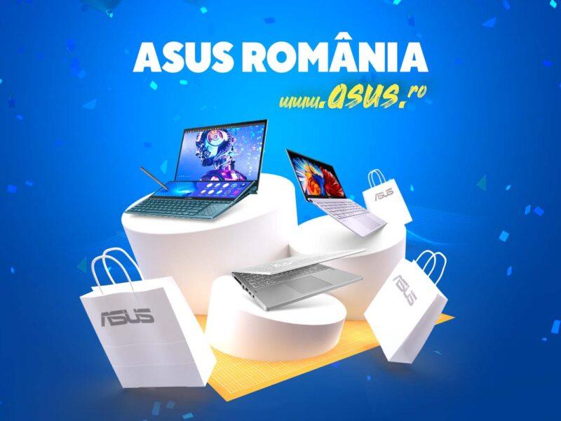 ASUS integrează în site-ul global eShop-ul oficial pentru utilizatorii din România